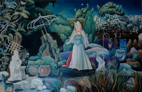 Venus in the Night Garden IV Elizabeth Barton