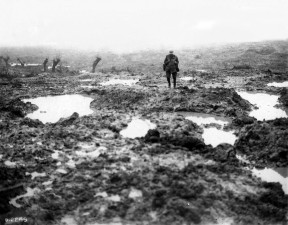 Mud at Passchendaele on the Western Front October 1917 Collection of Richard Stowers