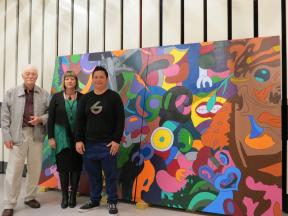 Zena Elliot gifts artwork to Waikato Bequests Trust